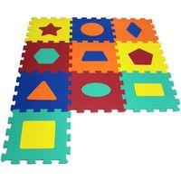 Puzzle, ARTYK 10 EL. Puzzle piankowe Kształty