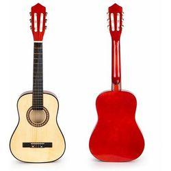 Gitara dla dzieci, drewniana, 6 strun, classic