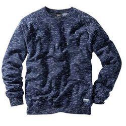 Bluza ciemnoniebieski melanż marki Bonprix