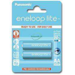 2 x Panasonic Eneloop Lite R6/AA 950mAh BK-4LCCE/2BE (blister)