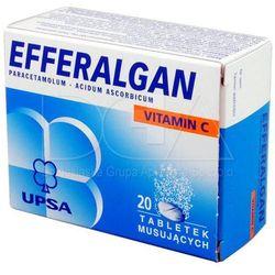 EFFERALGAN Z VITAMINĄ C 20 tabletek musujących