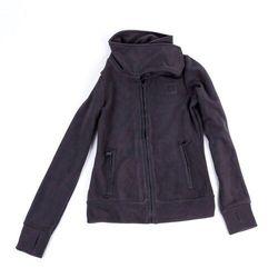 bluza BENCH - Her. Funnel Neck Fleece Gray Pinstripe (GY11379) rozmiar: XS