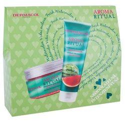 Dermacol Aroma Ritual Fresh Watermelon zestaw Żel pod prysznic 250 ml + Peeling do ciała 200 ml dla kobiet