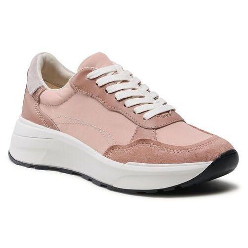 Damskie obuwie sportowe, Sneakersy VAGABOND - Janessa 5123-002-56 Dusty Pink