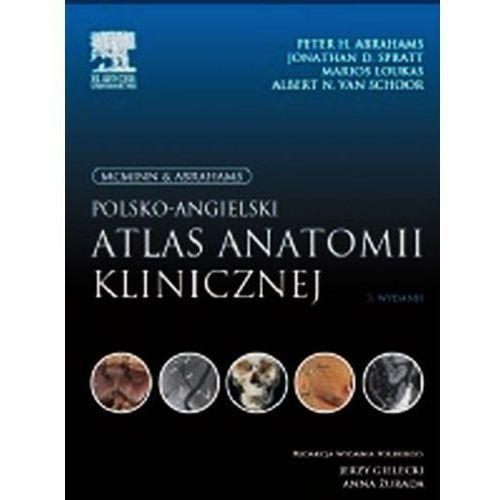 Książki medyczne, McMinn & Abrahams Polsko-angielski atlas anatomii klinicznej (opr. broszurowa)