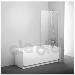 Ravak PVS1 parawan nawannowy 80x140cm biały transparent 79840100Z1