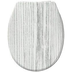 Deska sedesowa TUNDRA - Duroplast, wolnoopadająca