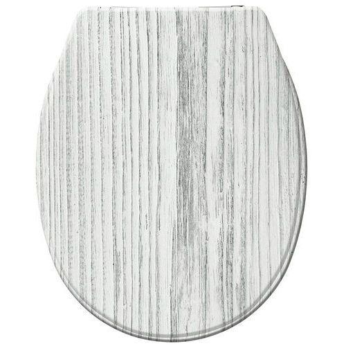 Deski i pokrywy do toalet, Deska sedesowa TUNDRA - Duroplast, wolnoopadająca