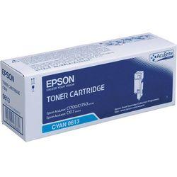 Epson oryginalny toner C13S050613, cyan, 1400s, high capacity, Epson Aculaser C1700