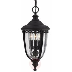Lampa zwis ENGLISH BRIDLE FE/EB8/M BLK IP44 - Elstead Lighting - Sprawdź MEGA rabaty w koszyku!