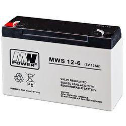 Akumulator AGM MWP MWS 12-6 (6V 12Ah)
