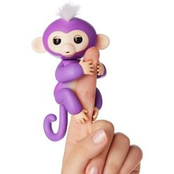 WowWee Pacynka Fingerlings - Małpka Mia, fioletowy