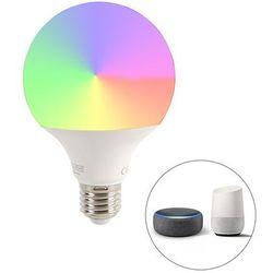Inteligentna ściemnialna lampa LED E27 G95 11W 900 lm 2200-4000 K.