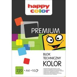 HAPPY COLOR BLOK TECHNICZNY PREM. A3 220g 10k KOLOR HAP.COLOR