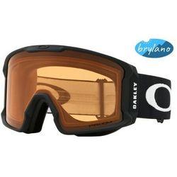 Gogle Oakley Line Miner Matte Black Prizm Snow Persimmon OO7070-57