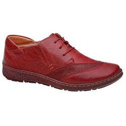 Półbuty KACPER 2-5207-729+400 Czerwone damskie - Czerwony