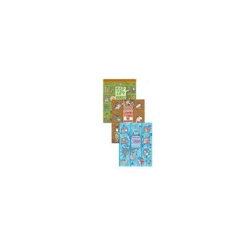 Książki dla dzieci, Pakiet: Miasteczko Mamoko, Dawno temu w Mamoko, Mamoko 3000 (opr. twarda)