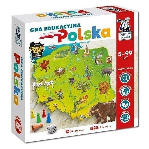 Gry dla dzieci, Kapitan Nauka Gra edukacyjna Polska - Praca zbiorowa