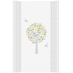 MAMO-TATO Przewijak na łóżeczko usztywniony 50x70 Magiczne Drzewa różowe