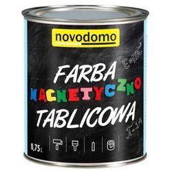 Farba magnetyczno-tablicowa Novodomo 0,75 l