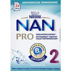 Mleko Nan Pro 2 powyżej 6 m-ca prosz. - 800 g (2 x 400)