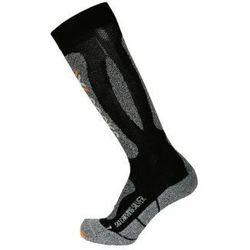 Skarpety narciarskie x-socks ski carving szary|czarny