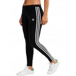Legginsy damskie adidas 3 Stripes Tight czarne FM3287