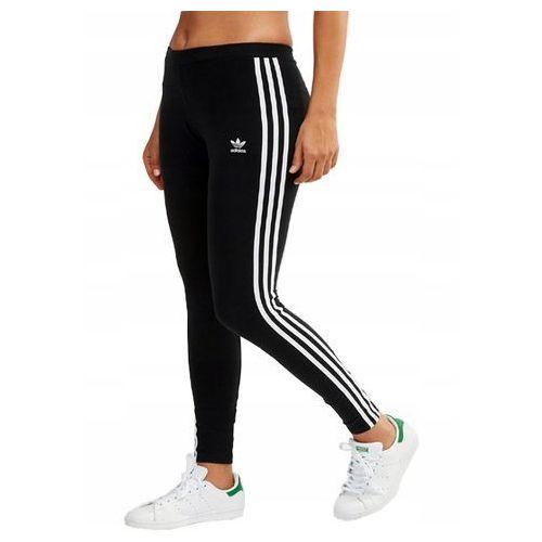 Legginsy, Legginsy damskie adidas 3 Stripes Tight czarne FM3287
