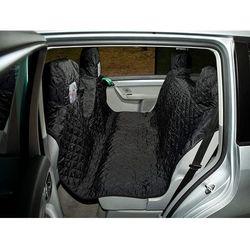 220 cm Pokrowiec samochodowy – z rzepem - Czarny