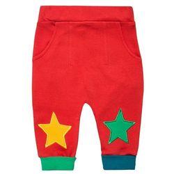 Little Green Radicals PILLAR BOX Spodnie materiałowe rot/multicolor