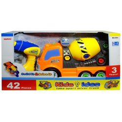 Zabawka SWEDE Ciężarówka betoniarka do skręcania