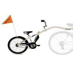 Przyczepka rowerowa WEERIDE Co-Pilot Biały + DARMOWY TRANSPORT!