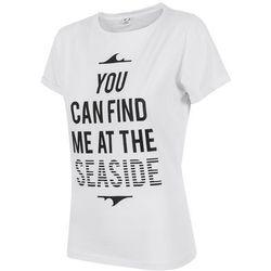 T-shirt damski TSD501 - biały