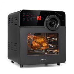 Klarstein AeroVital Cube Chef, frytownica na gorące powietrze, 1700W, 14l, 16 programów, czarna