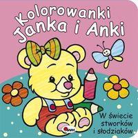 Kolorowanki, Kolorowanki Janka i Anki. W świecie stworków i słodziaków Praca zbiorowa