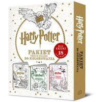 Kolorowanki, Harry Potter. Pakiet trzech książek do kolorowania - Jeśli zamówisz do 14:00, wyślemy tego samego dnia. Darmowa dostawa, już od 300 zł.