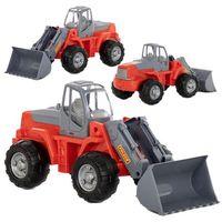 Traktory dla dzieci, Pojazd Traktor-ładowarka w siatce