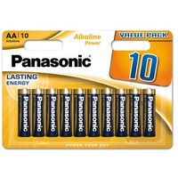 Baterie, Bateria PANASONIC Alkaline Power LR-06/AA (10 szt.)
