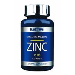 Minerały SCITEC ESSENTIALS ZINC 25MG - 100 TABL Najlepszy produkt Najlepszy produkt tylko u nas!