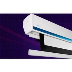 Ekran ścienny elektrycznie rozwijany z napinaczami Avers Stratus 2 Tension,240x180cm,4:3,Matt White