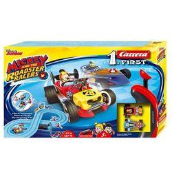 Carrera Tor wyścigowy First na baterie Miki i Raźni Rajdowcy 2,4m - DARMOWA DOSTAWA OD 250 ZŁ!!