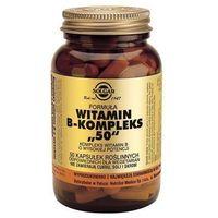 Witaminy i minerały, Formula witamin B-komplex 50, kaps., 50 szt
