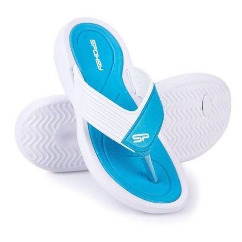 Pozostałe sporty wodne, Klapki basenowe SPOKEY Chillout Niebiesko-Biały (rozmiar 40)