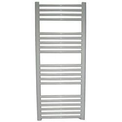 Grzejnik łazienkowy wetherby wykończenie proste, 400x1200, biały/ral