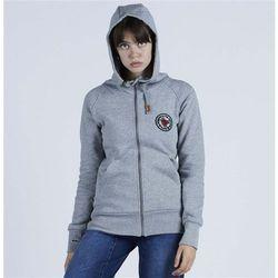 bluza NIKITA - Norah F-Z Hoody Athletic Heather Grey (AGH) rozmiar: S