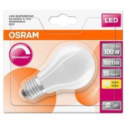 Żarówka LED Osram E27 1521 lm mleczna barwa ciepła