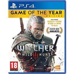 Wiedźmin 3 Edycja Gry Roku PL PS4