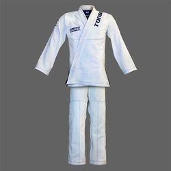 kimono do BJJ / ju-jitsu HURRICANE, białe, 580g/m2 / 14oz (9 rozmiarów)