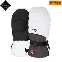 Odzież do sportów zimowych, rękawice POW - Ws Falon GTX Mitt +WARM White (B4BC) (Short) (WH)