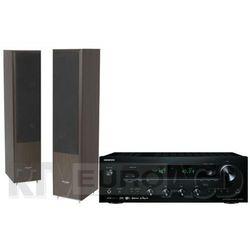 Onkyo TX-8250 (czarny), Pylon Audio Coral 25 (wenge)